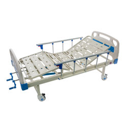 OEM akzeptiert Hersteller liefert 2 Funktion Manuelle Krankenhaus Betten