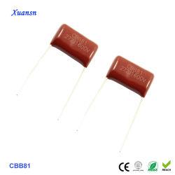 Cbb81 472J 1600V Metalllized haute tension Condensateur à film polypropylène