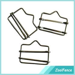 Schreiner-Draht-Schreiner für elektrischen fechtenden Edelstahl Polytape Verbinder für Verkauf ISO-Fabrik auf Band aufnehmen