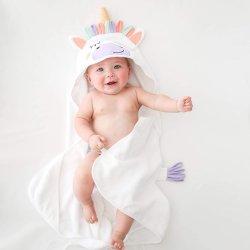 Шикарный арахис малыша колпачковая полотенце - хлопок детская полотенце для дома, пляж, бассейн - Super Soft новорожденных сушки банными полотенцами.