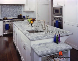 Luz Calacatta/Cinza Escuro para bancadas de cozinha em mármore/Island/banheiro vaidade tops/parede/Flooring telhas