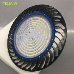 170lm/W LED High Bay lumière 200watt équivalente aux halogénures métalliques de 400 W