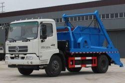China Camión 4X2 Dongfeng 12cbm brazo cargador de saltar la recolección de basura camión de basura de residuos