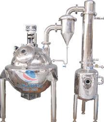 Evaporatore di vuoto di rotondità del riscaldamento di vapore dell'acciaio inossidabile con l'agitatore