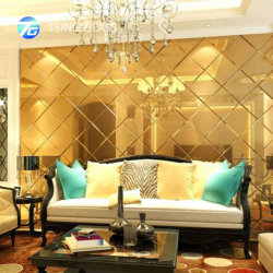 2-8mm / couleur clair/Gold/bronze/Pink Silver Miroir biseauté pour l'habillage/décoration/Salle de bains