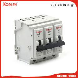 10ka insteek MiniStroomonderbreker 3p 6A-63A MCB