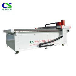 Cajas de cartón Máquina de corte CNC de cabezal de corte de cuchilla con precio reducido tamaño y color puede ser personalizado