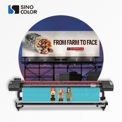 3,2 m a 10 pies de DX8 I3200-U rollo a rollo 1440dpi UV LED de la película de vinilo de impresora de etiquetas Banner