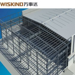 Vorfabriziertes/vorfabriziertstahlkonstruktion-Lager-/Werkstatt-/Aufbau-Gebäude mit ökonomischem Entwurf und bestem Preis