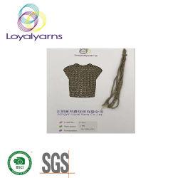 Filato vuoto acrilico della treccia con Lurex Ly-P252
