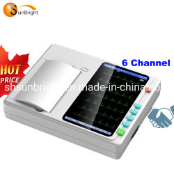 Schermo di tocco più poco costoso della Manica Sun-7062 del cavo ECG 6 del Portable 12