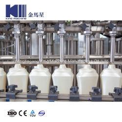 Désinfectant jetables antibactérien automatique 84 Liquide de remplissage de liquide de lavage de main d'alcool de gel désinfectant de mixage et de remplissage de bouteilles le plafonnement de l'étiquetage de la machine d'emballage