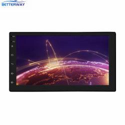 Betterway 7 インチ 1 DIN カーラジオオーディオカーステレオ MP5 DVD プレーヤ FM Bluetooth サポートリヤビューカメラステアリング ホイールリモートコントロール