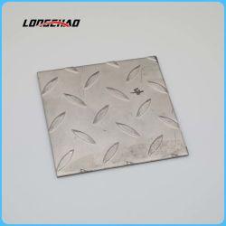 304 2b en acier inoxydable à finition antidérapante// Losange à damier de la plaque de feuille