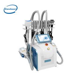 أحدث 360 Cryolulsis الدهون التجميد آلة Cellulite خفض 40 ك Cavitation معدات الليزر الليبو للترددات اللاسلكية