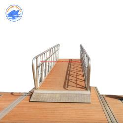 Плавучий каток с плавучим плавучим плавучим катером и пластиковым поплавковым поплавком Понтон