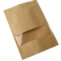티 포장 너비 6cm용 Kraft 알루미늄 팩토리 호일 가방 20 cm