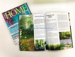 Format A4 magazine imprimé la durabilité de la taille personnalisée logo imprimé fournisseur OEM de Zhuhai en Chine dans le prix d'usine de bonne qualité