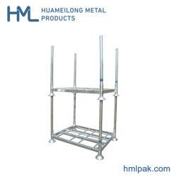 Huameilongの熱いすくいの電流を通された倉庫の移動可能な鋼管の記憶ラック