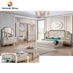 Freizeit Stuhl Home Wohnzimmer Bett Set Modern Factory Preis Hotelmöbel Set von Afrika