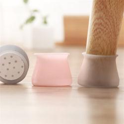 Tampa de protecção de silicone antiderrapagem Mobiliário Cadeira de tampas de perna abrange