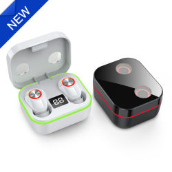 Smart toque em Bluetooth 5.0 Verdadeiro Fone de ouvido Bluetooth estéreo sem fios com cancelamento de ruído para jogos
