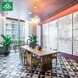 Hôtel Restaurant de meubles en bois Jeu de table avec chaise de salle à manger
