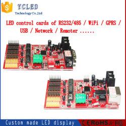 LED-beweglicher Nachrichtenanzeige-Controller mit Netz und Kanal RS232