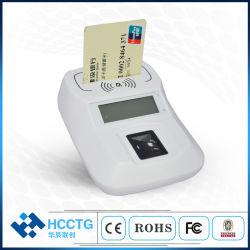 Bluetooth 2 in 1 intelligentem NFC Fingerabdruck-Kartenleser mit Fbi-Bescheinigung (HD8-FI)