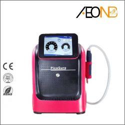 Laser-Tätowierung-Abbaufreckle-Abbau-Pigment-Abbau-Schönheits-Maschine der Picosekunde-755nm