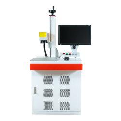 Горячая продажа оптическое волокно лазерной маркировки изделий из пластика ABS машины резьба лазерного оборудования