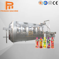Nouveau type de liquide de jus d'Orange Blanc du jus de mangue Machine de remplissage pour bouteille de verre / bouteille PET
