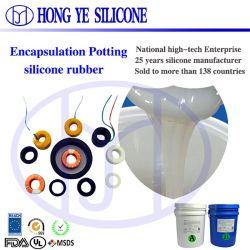 Amostra grátis para produtos eletrônicos de silício para soldar os fios com borracha de silicone líquido
