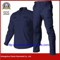 최고의 맞춤 디자인 저렴한 작업복 남성용 작업복 전문적인 작업복, 보안복 유니폼 재킷 (W1004)