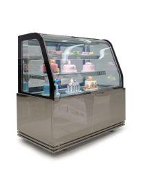 ケーキのキャビネットのパン屋のショーケースのペストリー冷却装置サラダ表示