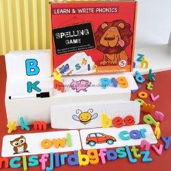 ألعاب تعليمية ألصور تعلم الكتابة بطاقات فلاش ألعاب للأطفال الصغار ما قبل المدرسة مطابقة خطاب تدقيق الألعاب للأطفال من 3 إلى 8 سنوات الصبيان الفتيات الصغيرات الصغ17565