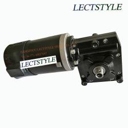 전기 강화 골프 트롤리에 12V 24V 240V-380W DC 벌레 기어 흡진기 모터