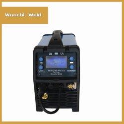 ماكينة لحام ماكينات لحام MIG ذات ذبذبات العاكس عالي التردد للبيع