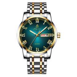 Vigilanza su ordinazione della cinghia dell'acciaio inossidabile dell'orologio dell'uomo del quarzo (JY-ST064)