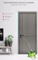 China interior personalizado solo columpio de madera casa de madera de diseño más reciente Modelo de puerta