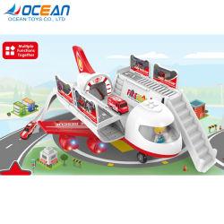 La plastica multifunzionale di memoria 2CH scherza l'aereo elettrico del giocattolo RC con musica chiara