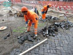 Basalto nero/grigio per la parete/pavimentazione/punti scala/delle mattonelle/pietra per lastricati