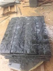 Steen van de Muur van het Basalt van de Paddestoel van China Zhanjiang de Zwarte met het Comité van de Muur van de Bekleding van het Gat