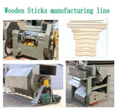 機械を作る木製のコーヒースターラーのマグナムびんのアイスクリームの棒