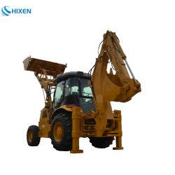 Excavadora cargadora retroexcavadora cargadora de ruedas Micro excavadoras de la excavadora de ruedas