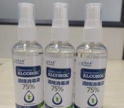 efficace mini disinfettante senz'acqua Pocket senza alcool antibatterico portatile dell'etanolo dello spruzzo dell'alcool 100ml per la mano