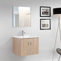 LED du bassin de la céramique de contreplaqué moderne salle de bains de miroir de la vanité du Cabinet définit Accueil Produits