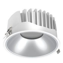 28W vers le bas LED allume la LED d'éclairage LED d'éclairage au plafond Montage au plafond à LED Lampe à LED Downlights cris anti-reflets de trame COB Downlights encastrés à LED