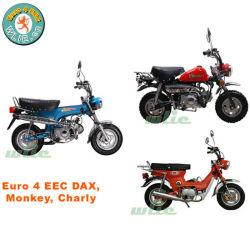 De EEG & Coc 2 het Rennen van het Wiel Motorfiets Dax van de Welp van de Benzine van de Motor van de Benzine van het Gas 50cc 125cc van de Fiets van de Straat van het Vuil van de Autoped van de Motor van de bromfiets (Euro 4)