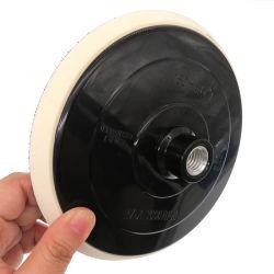 7 Zoll-Haken u. Schleifen-versandende Auflage-Zurückziehenplatte für vertiefte Polsterauflagen und Wolle-polierende Auflagen